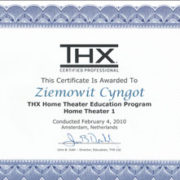 Certyfikat THX